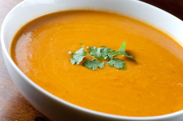 Ginger Carrot Soup